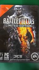 Battlefield 3: Limited Edition (COMPLETE) (PC, 2011) (VG CONDITION) 2 DISCS