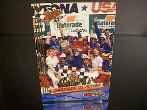 Rare Jeff Gordon Wheels Rookie Thunder 1993 Card #50 GATORADE 125 VICTORY