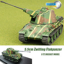 Gragon 5.5cm ZwillingFlakpanzer 1/72 DIECAST MODEL FINISHED TANK
