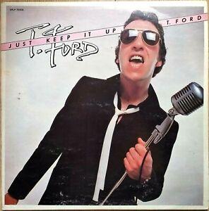 T.FORD just keep it up LP vinyl 33t  ROCK'N'ROLL