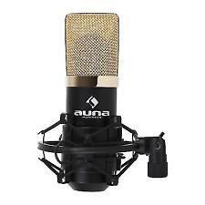 Auna Mic-900bg Studio Pro Cardioid Microphone With Spider Mount USB Plug & Play