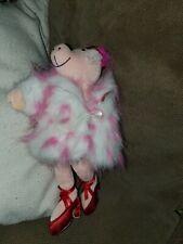 Jellycat Plush Pink Pig Fur Coat Heels Hat Fur Nordstrom Doll Toy