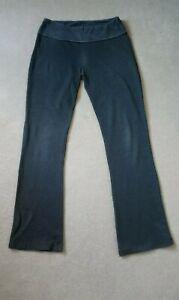 White Stuff Activewear Yoga Trousers Jogging Bottoms Size Medium (12-14) Grey