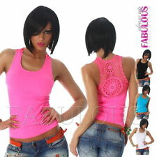 Unbranded Nylon Casual Solid Tops & Blouses for Women