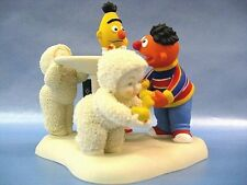 """Snowbabies With Bert & Ernie """"Rubber Duckie Have Some Fun"""""""
