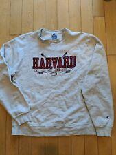 Vintage Champion Harvard Hockey Crewneck Sweatshirt - XXL (fits an XL)