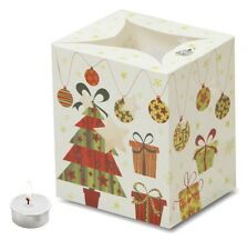 CHRISTMAS CANDLE BAGS - ORNAMENTS - 5 Pack