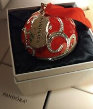 NIB 100% AUTHENTIC PANDORA JEWELRY RED CHRISTMAS SPECTACULAR ROCKETTES ORNAMENT