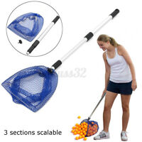 Foldable Telescopic Ping Pong Ball Picker Table Tennis Pick Up Net for  /
