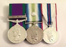 GSM Northern Ireland, Falklands, Silver Jubilee, Full Size Court Mounted Medals