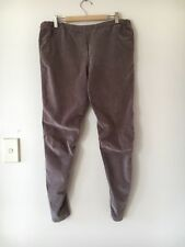 🍃 Womens Cable Melbourne Corduroy Cord Front Streach Pants Brown Size L