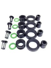 FUEL INJECTOR REPAIR KIT O-RINGS FILTERS GROMMETS SEALS CAPS HONDA ACURA L4