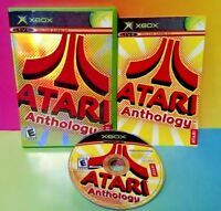 Atari Anthology  - Microsoft Xbox OG Game Rare Complete 1-4 Players Tested
