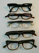 Vintage 5 Pc. Defective Eyeglass Frame Lot New Old Stock #299/1