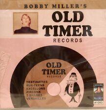 Bobby Miller's OLD TIMER RECORDS - 28 Acappella Tracks on CBR #1093