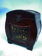 Cupid Themed Antiqued Wooden Box
