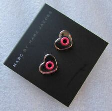 Marc Jacobs Post Earrings Hole Hearted NEW