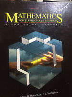 Mathematics for Elementary Teachers/3rd Edition by Albert B. Bennett book