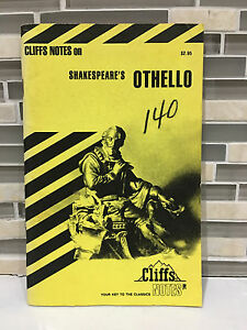 CliffsNotes on Shakespeare's Othello Paperback