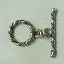 Sterling SilverToggle Clasp Twist design