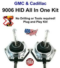9006 All In One Xenon HID 6000K Fully Integrated Ballast Bolt On GMC Cadillac