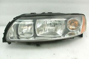Volvo S60 driver left headlight assembly 05-09 head light Halogen OEM XC70 V70