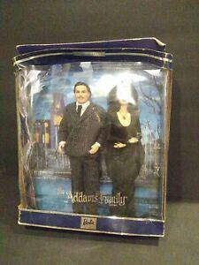 NRFB Mattel Addams Family Gift Set Barbie Ken #27276