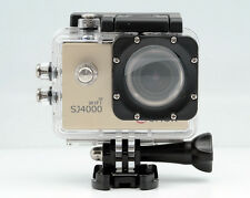 QUMOX WIFI SJ4000 Or Action Sport Cam Kamera étanche HD 1080p Helmkamera