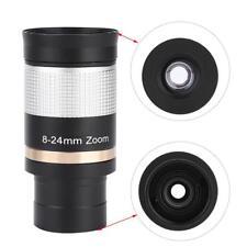 Datyson 1.25inch 8-24mm Zoom Eyepiece Aluminium Alloy for Astronomical Telescope