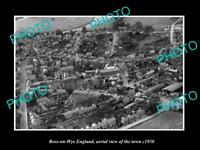 OLD LARGE HISTORIC PHOTO OF ROSS ON WYE ENGLAND AERIAL VIEW OF THE TOWN c1930 1