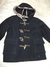 Orig. Burberry-Classique Luxe-Mante/laine cashmere U.. CAPUCHE taille 18 mo article neuf