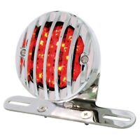 United Pacific 71002 Motorcycle Rear Turn Signal Bar with 14 Red LED Light Bar Clear