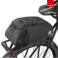 Durable MTB Mountain Bike Cycling Rear Seat Rack Trunk Bag Pack Pannier Carrier