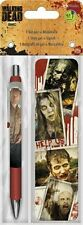 WALKING DEAD - GEL PEN & BOOKMARK - BRAND NEW - ZOMBIES AMC TV 3557