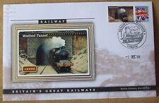 2008 Ltd Ed Benham Error Cover - L&NWR  Watford Tunnel