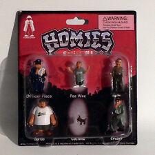Homies Figuren / Figures - Series #4 Set 1 - 1:32 - 4,5 cm - Rarität - OVP - NEU