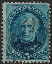 United States #179 5c. Taylor Issue Used Very Fine