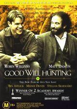 GOOD WILL HUNTING DVD ROBIN WILLIAMS MATT DAMON ***