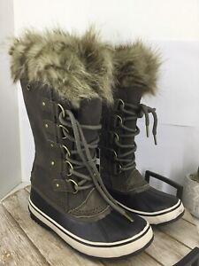 🎁 SOREL women's Joan of Arctic suede boots size 6.5