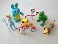 Toy Story 4 Bundle of Toys Bo Peep Forky Woody Ducky Bunny Duke Caboom Rex Slink