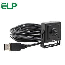 Mini 720P USB Camera OV9712 Color Sensor with 3.7mm Pinhole Lens Aluminum Case