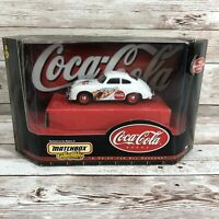 Matchbox Collectibles Coca-Cola Brand 1958 Porsche 356A Coupe Vintage