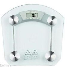 Digital LCD Electronic Tempered Glass Bathroom Weighing Scale