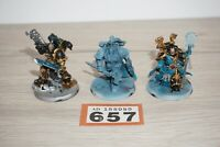 Warhammer 40k Chaos Space Marines Sorcerer Lord Havoc Sergeant - LOT 657