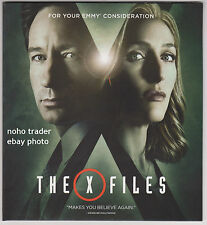 2016 THE X FILES EMMY FYC PROMO RARE DVD DAVID DUCHOVNY GILLIAN ANDERSON X-FILES