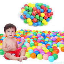 50pcs Kids Baby Colorful Soft Play Balls Toy for Ball Pit Swim Ball Pool Play