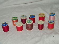Sewing Thread 10 Spools Quilting 18409 Coats Clark Signature
