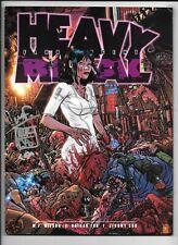 Heavy Metal Vol 32 #6 July 2008 Signed Wilson, Fox, Cox +Bonus FN/VF 1977 Series