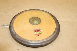 RARE GILL  Discus Disc METAL & WOOD Track Field