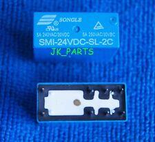 10pcs ORIGINAL SMI-24VDC-SL-2C 24VDC SONGLE Relay 8Pins